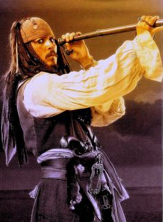 Day 1: Favorite Character Captain Jack Sparrow. Pirates are awesome!