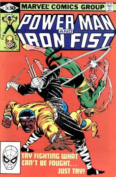 Power Man and Iron Fist 74 A, Oct 1981 Comic Book by Marvel Marvel Comics Superheroes, Marvel Comic Books, Comic Books Art, Comic Art, Book Cover Art, Comic Book Covers, Character Drawing, Comic Character, Heroes For Hire