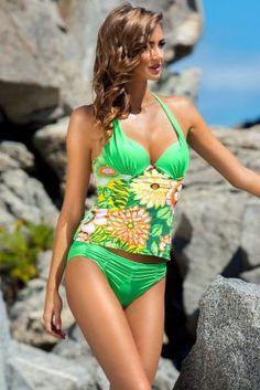 Tankini na lato http://ekskluzywna.pl/kostiumy-kapielowe