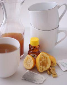 Ginger White Tea Concentrate via @memeinge @healthyaperture