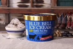 Blue Bell Ice Cream Announces New Cookie Two Step Flavor  - CountryLiving.com