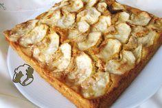 Apple cake with chickpeas and rice flours - gluten free http://www.legumechef.com/en/the-recipes/recipe-book/item/586-bizcocho-de-manzana-con-harina-de-garbanzos-y-de-arroz-celiacos