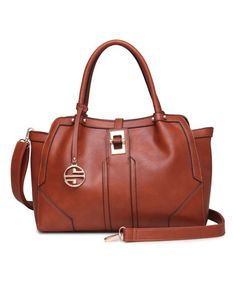 Look what I found on #zulily! Hazelnut Deco Satchel by Segolene Paris #zulilyfinds