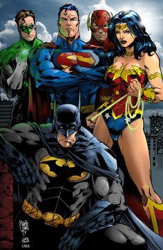 Justice League by scroll142.deviantart.com on @DeviantArt