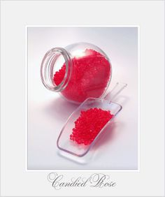 Candied Rose palmarosa, bergamot, mandarin essential oil Red Scented Aroma Beads Natural by ukaromabeads, £0.79