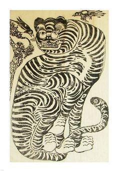 Korean Folk Tiger