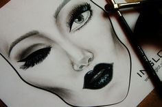 #facechart #facechartInglot
