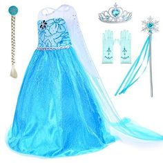Costume Birthday Parties, Birthday Dresses, Elsa Costume For Kids, Kids Costumes For Girls, Little Girl Costumes, Little Girl Dresses, Girls Dresses, Tutu Dresses, Chili Party