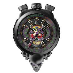 "Bomberg watches: Bomberg BOLT-68 Automatic Chronograph Limited Edition ""SKULL"" Limited Edition"