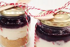nice idea for gift Cheesecake Cupcakes, Cheesecakes, Food For Thought, Chocolate Fondue, Tea Party, Cupcake Cakes, Panna Cotta, Pudding, Sweets