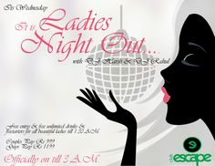 ‪#‎WednesdayLadiesNight‬ Are You Exited Ladies? For More Visit At :http://clubescapemumbai.com/