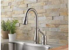 Natural Stone Backsplash   Will Look Great In The Kitchen.