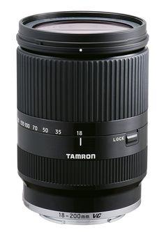 Tamron 18-200mm Di III VC (Black) for Sony E-mount Mirrorless Interchangeable-Lens Camera (Model B011) - International Version (No Warranty)