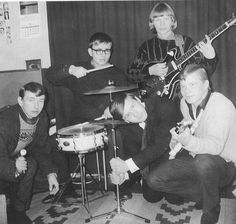 The Five Yes with Rauli Badding Somerjoki on the left (1965) Finland