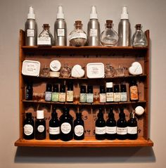 Last spring I took a home medicine making workshop at Erin's Meadow Herb Farm, setting in motion a new obsession that I think will probably last a life time: building and using a home apothecary. &...