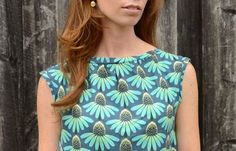 Burda Style Sewing at Hawthorne Threads:Elastic waist dress