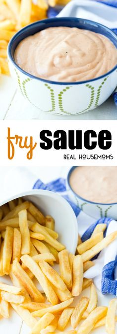 FRY SAUCE is the perfect accompaniment to freshly fried spuds, a charbroiled burger, roasted hot dogs or even a French dip sandwich! via @realhousemoms