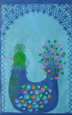 modflowers: scandi bird wallhanging from annchristinljungberg on etsy