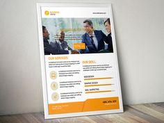 Corporate Flyer Template by Sujonmaji on Creative Market