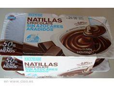 Natillas Chocolate sin azúcares añadidos de Hacendado (Mercadona) - 1 unidad 1,5 puntos