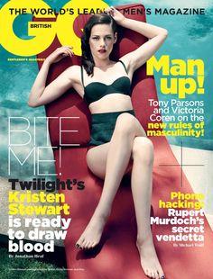 Kristen Stewart Covers GQ.. i love her swim suit