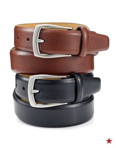 This Father's Day, complete his look with a new leather belt from Tasso Elba.