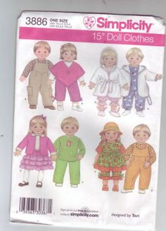 Free Copy of Pattern - Simplicity 3886