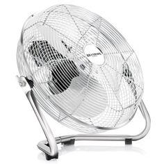 Brandson - Ventilateur in chrome en design rétro | 35 cm de diamètre | Trois…