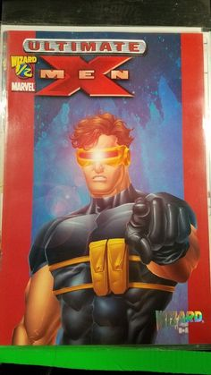 Marvel Comics Wizard #1/2 Ultimate X-Men Limited Series Special Edition COA: $2.99 (0 Bids) End Date: Sunday Apr-15-2018 16:46:41 PDT Buy…