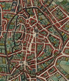 Leuven, atlas De Wit 1698
