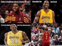 Kobe vs Kyrie Irving