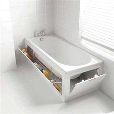 Küvet bu kadar kullanışlı olur # bathtub