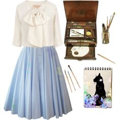 Watercolor., created by melissalackey on Polyvore