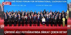 Cumhurbaşkanı Erdoğan diğer liderlerle aile fotoğrafı çektirdi: Pekin Olimpiyat Merkezi'ndeki Çin Ulusal Kongre Merkezi'nde düzenlenen,  Kuşak ve Yol Forumu nun açılış töreninde sırasıyla Çin Devlet Başkanı Şi Cinping, Rusya Devlet Başkanı Vladimir Putin, Cumhurbaşkanı Erdoğan ve Birleşmiş Milletler (BM) Genel Sekreteri Antonio Guterres birer konuşma yaptı. Erdoğan, konuşmasının ardından diğer liderlerle aile fotoğrafı çektirdi. Fotoğraf çekimi sırasında ev sahibi olan Çin Devlet Başkanı…