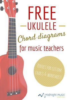 More free music teacher resources This collection of ukulele chord diagrams is… Ukulele Tabs, Ukulele Songs, Ukulele Chords, Guitar Chord, Preschool Music, Music Activities, Teaching Music, Physical Activities, Middle School Music