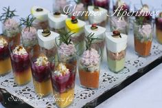 verrines apéro Mousse, Mini Burgers, Quick Snacks, Food Packaging, Mini Cakes, Sushi, Snack Recipes, Brunch, Food And Drink