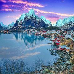 Reine,Lofoten Islands, Norway.