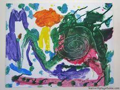 Glue Canvas Art