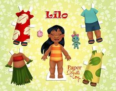 Paper Doll Craft, Paper Toys, Doll Crafts, Paper Crafts, Micro Creche, Disney Paper Dolls, Paper Puppets, Paper Dolls Printable, Disney Diy