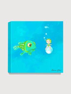 Antonia Press  Fish 2 Canvas Print