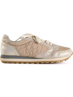 Have a nice weekend Brunello Cucinelli metallic Sparkle Sneakers