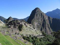 Machupicchu, el emblema de Perú, una de las nuevas maravillas del mundo moderno!