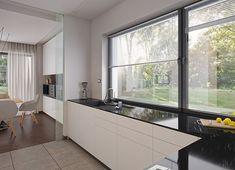 Projekt domu Agos 181,15 m² - koszt budowy - EXTRADOM Dream House Plans, Kitchen Island, Furniture, Houses, Home Decor, Interiors, Face, Beauty, Island Kitchen