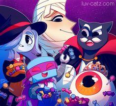 Happy Halloween from Luv Catz