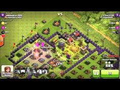 Mass Minions vs Lava Hound Mass Minions - Clash Of Clans Strategy