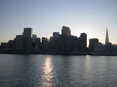 Downtown San Francisco, view from the Ferry
