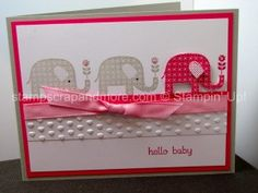 Cute birthday card for Sandy! haha Patterned Occasions Baby Card