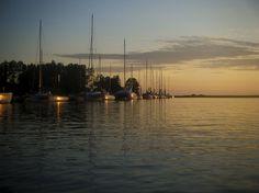 #SummerInSurrey #SurreyBC - Sunset @ Stewart Farm - Kayaking the slough, Bini Ball