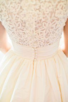 Beautiful dress detail