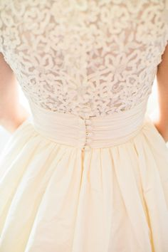 Beautiful dress detail